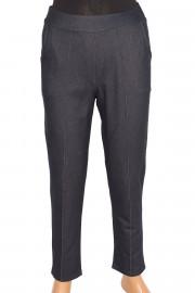 Barem Kot Görünümlü Lacivert Pantolon
