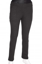 Barem Pensli Mini Kazayağı Siyah Pantolon