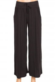 Barem Penye Siyah Pantolon Etek