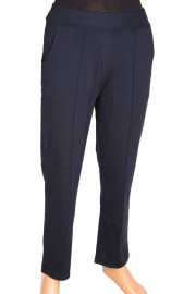 Barem Ütü İzli Lacivert Pantolon