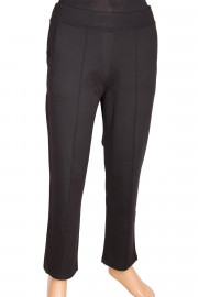 Barem Ütü İzli Mevsimlik Siyah Pantolon