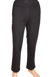 Barem Ütü İzli Siyah Pantolon
