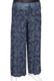 Barem, Verda Penye Pantolon Etek Mavi