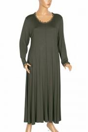 Shine, Tuana Boydan Kuplu Penye Haki Elbise
