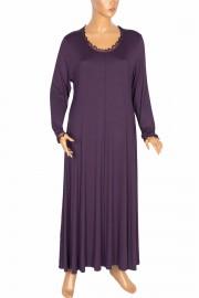 Shine, Tuana Boydan Kuplu Penye Mor Elbise