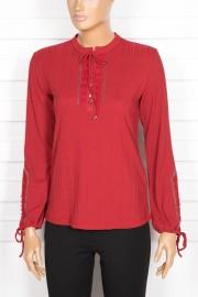 Tripen, Alina Dantelli Kırmızı Bluz